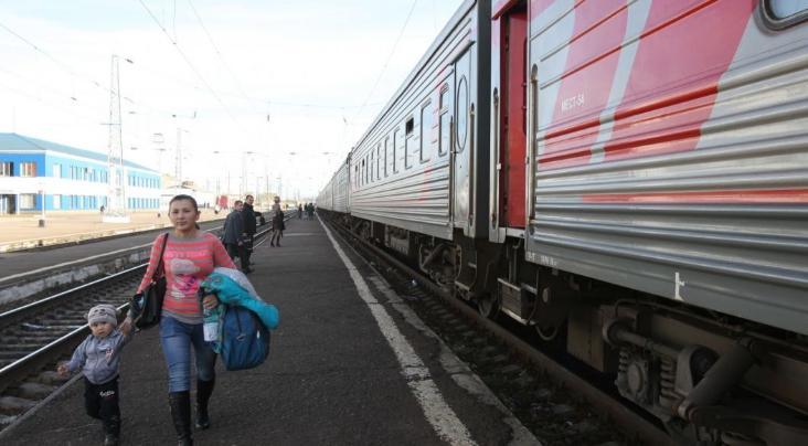 Поезд ВСЖД