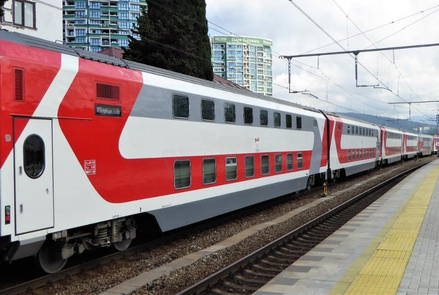 Двухуровневый поезд