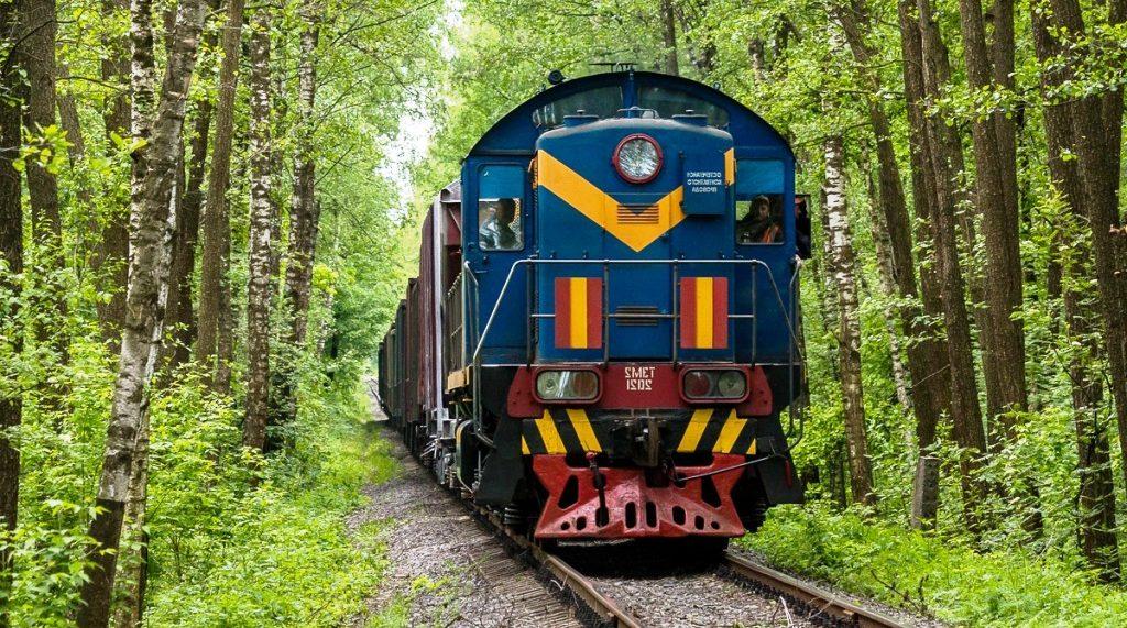 Тоннель любви в городе Клевань Украина