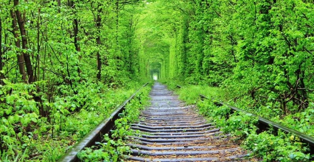 Тоннель любви в Украине