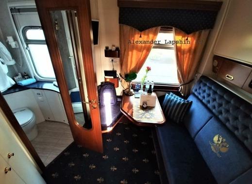 Как выглядит самый дорогой поезд в РФ с билетами по 25 000 евро