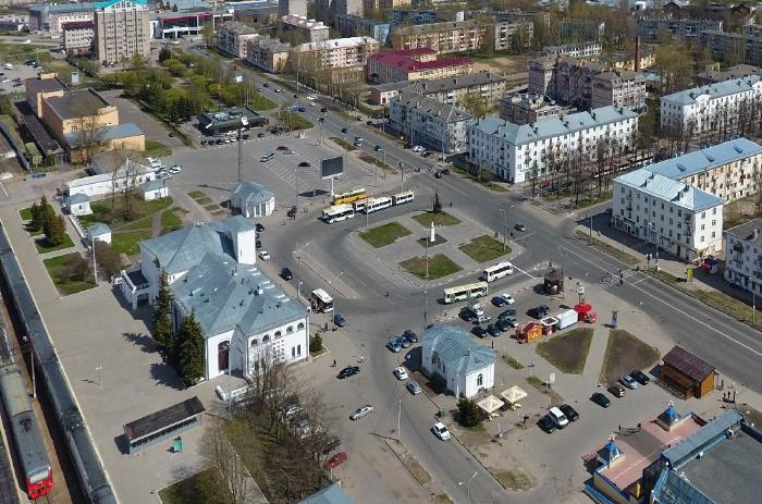 ЖД вокзал Великого Новгорода