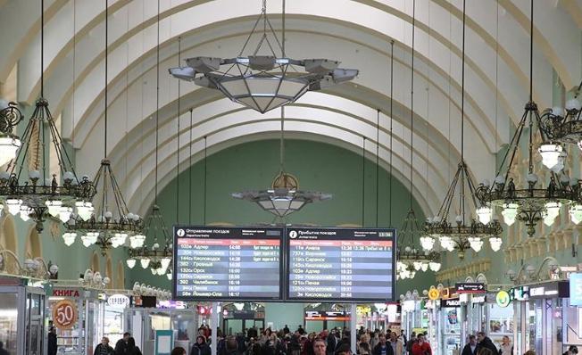 Помещение ж/д вокзала