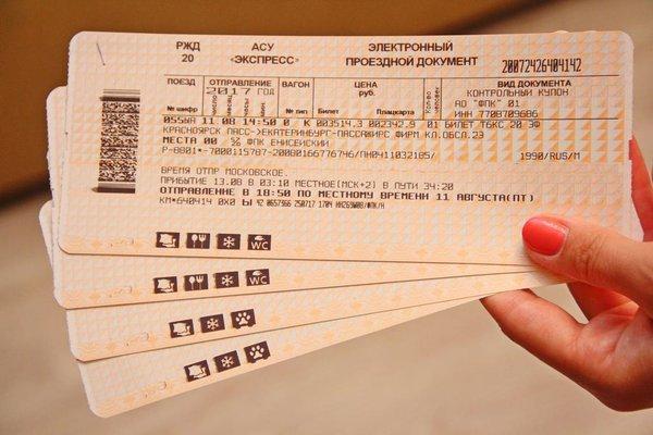 Как приобрести билет на поезд?