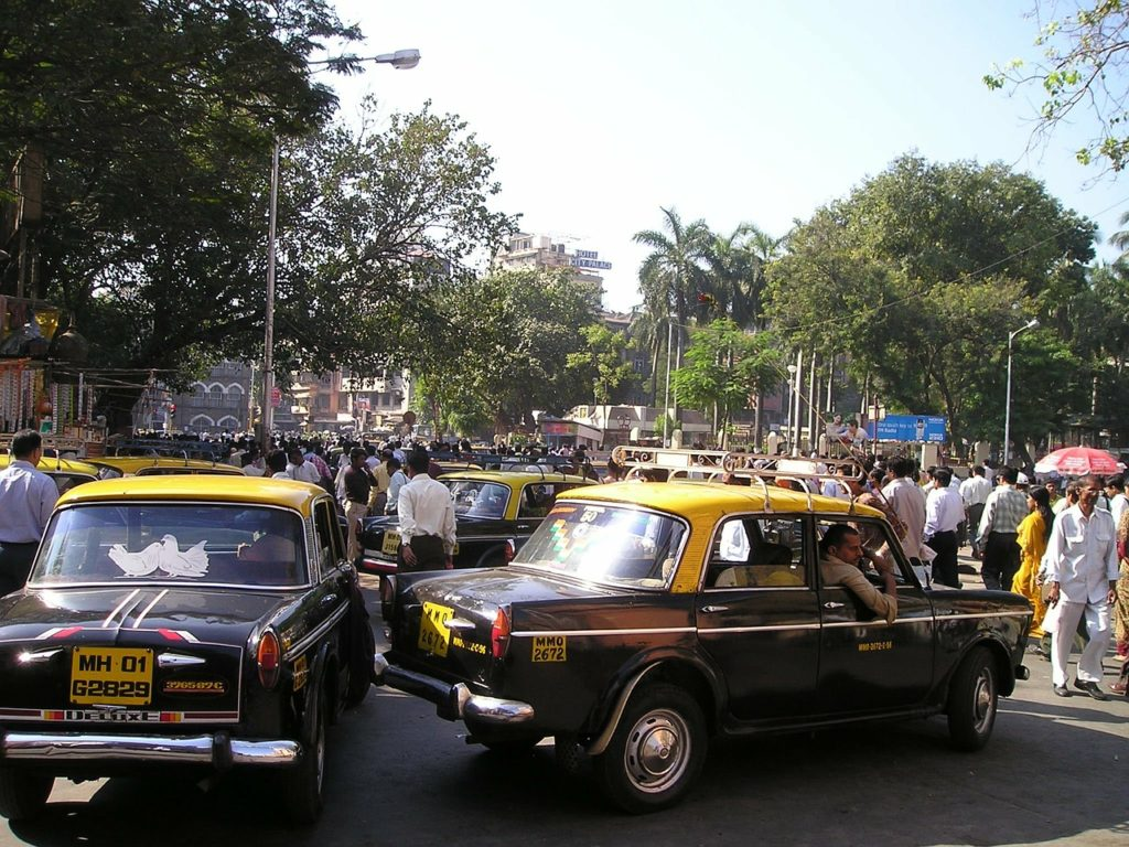 Такси в Индии. Мумбаи