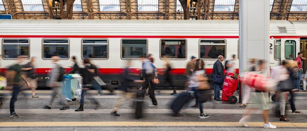 Транспорт в Италии. Поезда